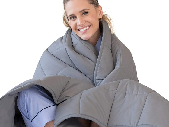 Luna Adult 15 Lbs Weighted Blanket! sweepstakes