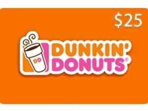25 dunkin donuts
