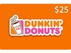 $25 Dunkin Donuts Gift Card! sweepstakes