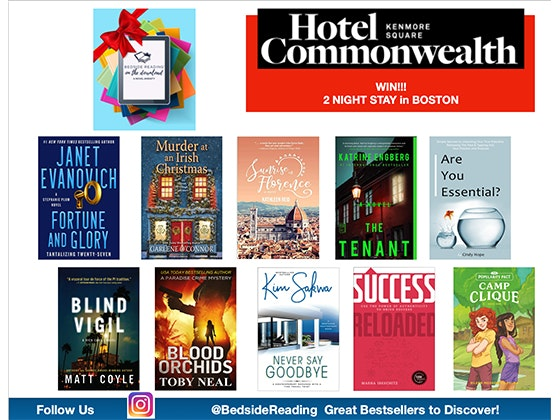 Two night stay at the Hotel Commonwealth in Boston From Bedside Reading!  sweepstakes