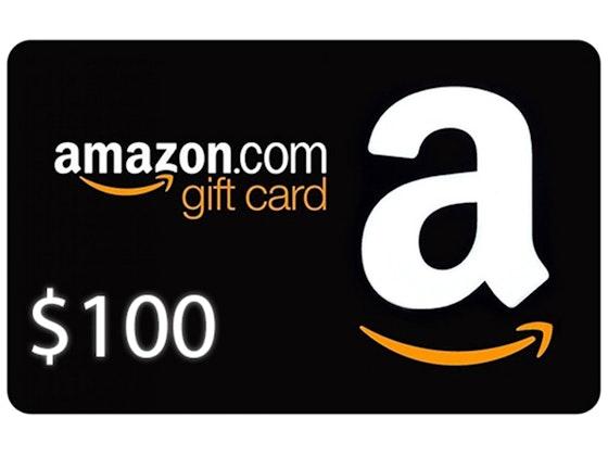 $100 Amazon Gift Card! sweepstakes