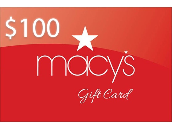$100 Macy's Gift Card!  sweepstakes