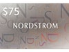 $75 Nordstrom Gift Card!  sweepstakes