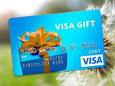 $100 Visa Gift Card! sweepstakes