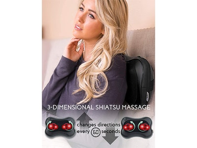 Zyllion Shiatsu Back and Neck Massager! sweepstakes