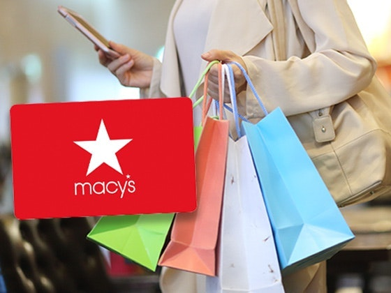 $75 Macy's Gift Card!  sweepstakes