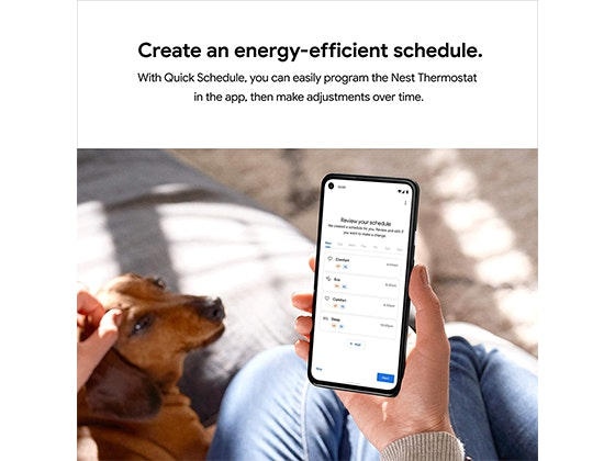 Google Nest Smart Thermostat! sweepstakes