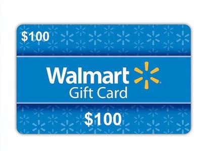 $100 Walmart Gift Card sweepstakes
