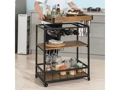 Haotian Bar/Serving Cart!  sweepstakes