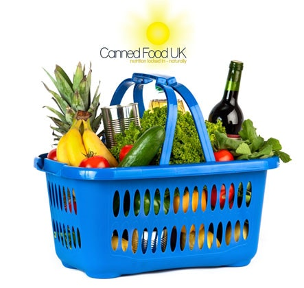 Samsung digital tablet with Canned Food UK sweepstakes