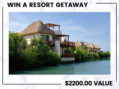 3-Night Stay at  Mayakoba Resort! sweepstakes