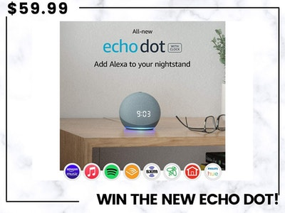 All-new Echo Dot! sweepstakes
