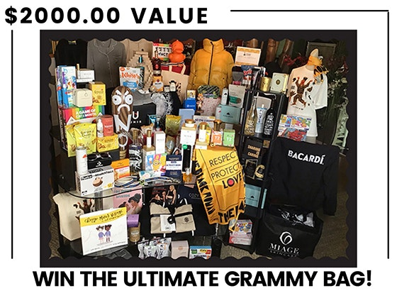The Ultimate Grammy Bag!  sweepstakes