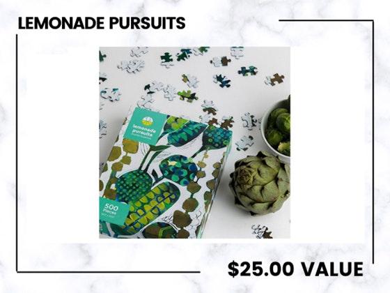 Lemonade Pursuits Puzzles!  sweepstakes