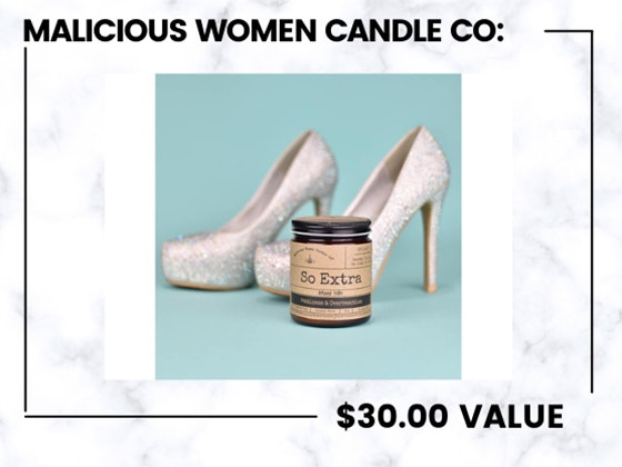 Malicious Women Candle Co. sweepstakes
