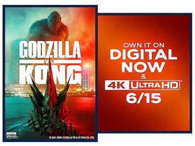 GODZILLA VS. KONG on Digital!  sweepstakes