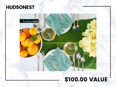 Win a Sophisticated Bundle from Hudsonest! sweepstakes