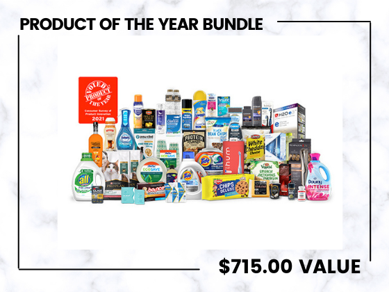Product of The Year Bundle!  sweepstakes