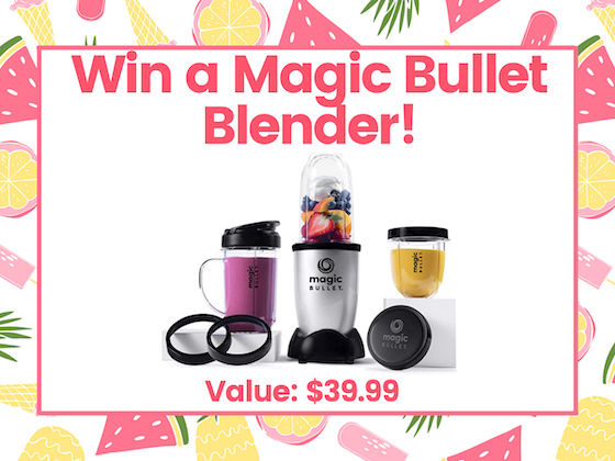 Win a Magic Bullet Blender  sweepstakes