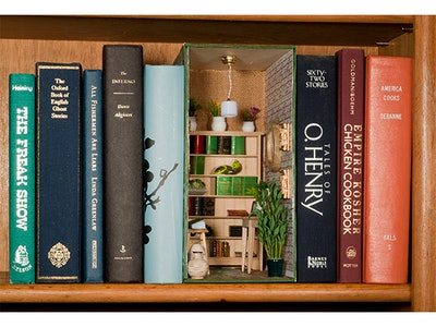 Book Nook Kit from Hobby Builders! sweepstakes