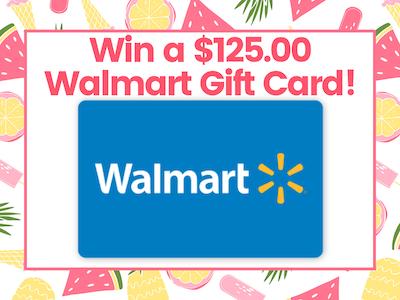 $125.00 Walmart Gift Card! sweepstakes