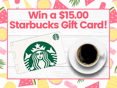 $15.00 Starbucks Gift Card! sweepstakes