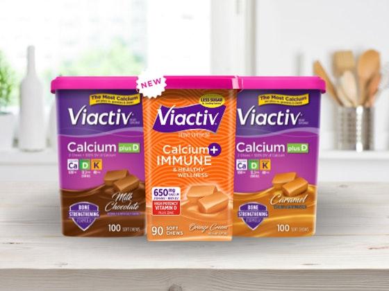 $100 Amazon Gift Card & Viactiv Calcium Chew sweepstakes