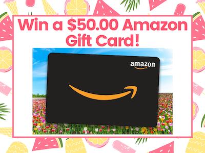 $50.00 Amazon Gift Card!  sweepstakes