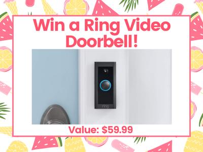 Ring Video Doorbell!  sweepstakes