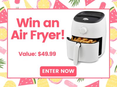 Air Fryer!  sweepstakes