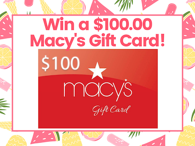 $100.00 Macy's Gift Card! sweepstakes