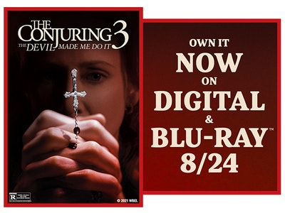 Win The Conjuring: The Devil Made Me Do It!  sweepstakes