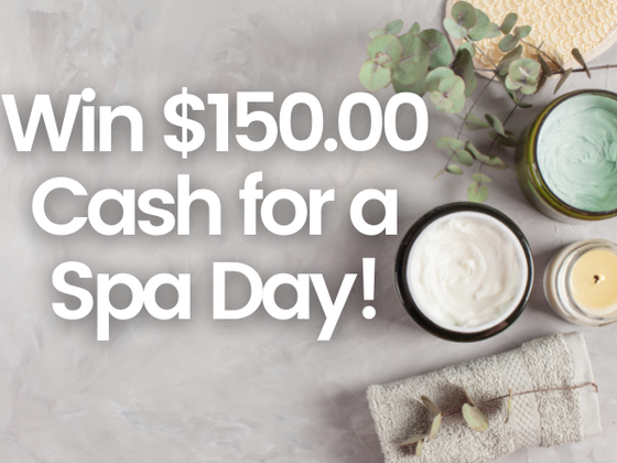 $150.00 Cash for a Spa Day! sweepstakes