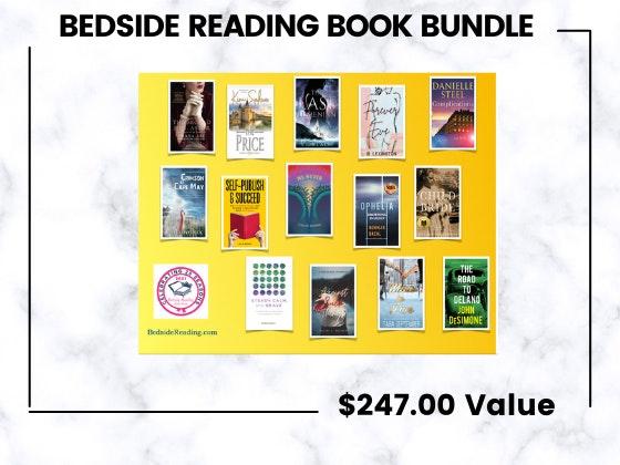 Bedside Reading Book Bundle!  sweepstakes