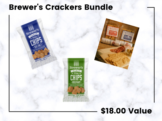 Brewer's Crackers Pita Chips! sweepstakes