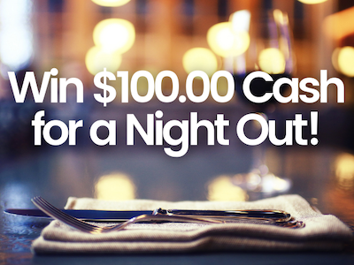 $100.00 Cash! sweepstakes