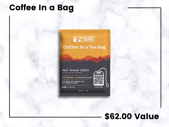 Coffee in a Tea Bag from Wildland Coffee! sweepstakes