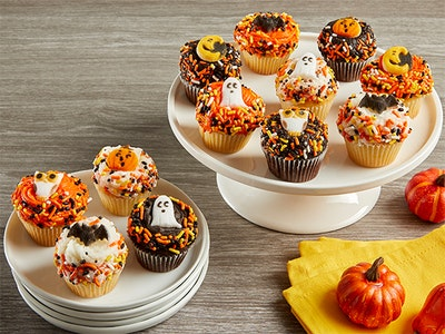 Haunting Mini Cupcakes for Halloween! sweepstakes