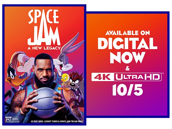 SPACE JAM: A NEW LEGACY on Digital!  sweepstakes