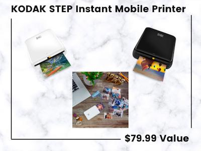 Win a KODAK STEP Instant Mobile Printer!  sweepstakes
