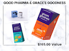 Goodies From Grace's Goodness and Good Pharma! sweepstakes