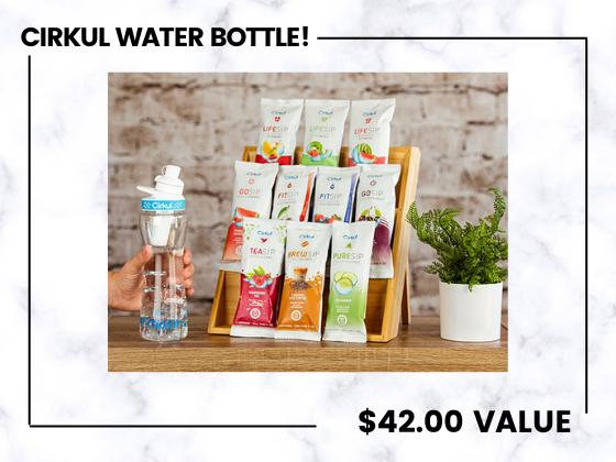 Win The Viral Cirkul Water Bottle! sweepstakes
