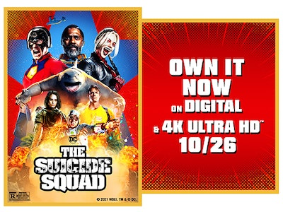 The Suicide Squad Digital Movie! sweepstakes