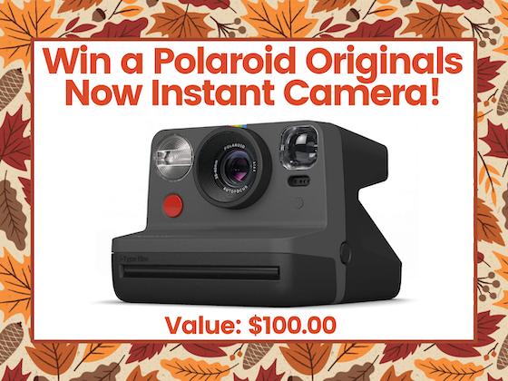 Polaroid Originals Now Instant Camera! sweepstakes