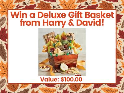 Harry & David Deluxe Gift Basket! sweepstakes