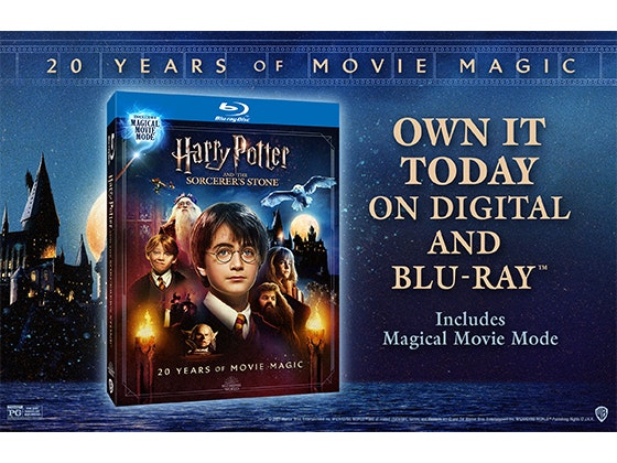 HARRY POTTER AND THE SORCERER'S STONE: MAGICAL MOVIE MODE! sweepstakes