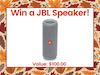 JBL Portable Speaker!  sweepstakes