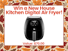 New House Kitchen Air Fryer!  sweepstakes