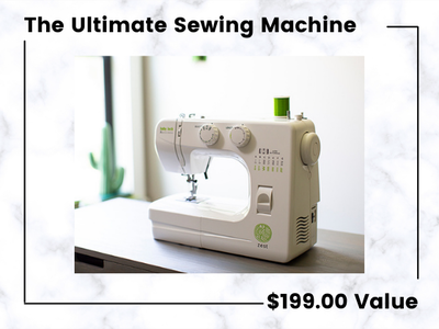 The Baby Lock Zest Sewing Machine! sweepstakes