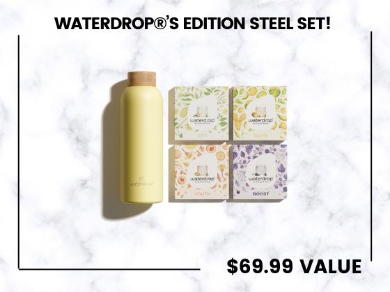 Waterdrop®'s Edition Steel Set! sweepstakes